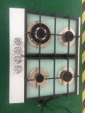 Stufa di gas di vetro del fornello della casa del bruciatore 4 (JZS4600)