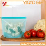 Alimento variopinto del silicone/sacchetto di verdure di memoria della cucina, sacchetto di sigillamento del silicone