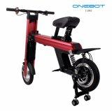 Bicicleta eléctrica de aluminio aeronáutica portable plegable para conmutar