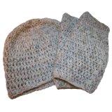 Niza color dama tejida sombrero y bufanda (jrk213)