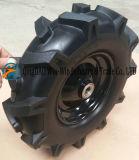 Roda de espuma de PU sólida usada na roda de trole manual (4.00-8)