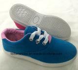 Nuevos zapatos de lona del ocio del diseño para los cabritos (FF924-14)