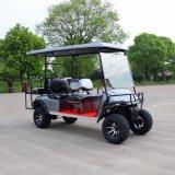セリウムは道の電気ゴルフカートを離れて6乗客を証明した