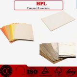 Los paneles de pared del laminado de madera de HPL