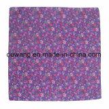 Bandanas poco costosi del quadrato di stampa di marchio di Paisley del cotone di alta qualità unisex