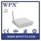 Unidad de red óptica Gigabit WiFi GEPON FTTH de Epon ONU Ontario