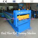30 Rodillo Grupos Plataforma de panel del suelo Máquina formadora de rollos