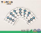 Azul tradicional para picar la tarjeta Hic del indicador de humedad