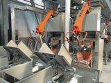 Macchina per l'imballaggio delle merci completamente automatica per l'adesivo delle mattonelle