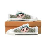 [دروبشيبّينغ] مصنع دنيا قطعة نوع خيش حذاء رياضة يجعل عالة أحذية مع تصميد طباعة