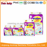 Clothlikeの赤ん坊のおむつの良質の高い吸収(Baby Diaper王子)