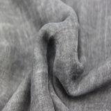 Sciarpa grigia di modo dell'ondulazione del poliestere per le donne, scialli dell'accessorio di modo