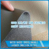 Lustre moyen et émulsion acrylique de flexibilité pour le cuir