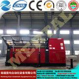 Machine de roulement de plaque du roulis Mclw12CNC-50*3000 quatre avec la norme de la CE, machine à cintrer de plaque