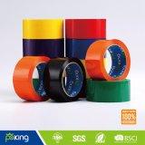 単一の味方されたオレンジ接着剤によって着色されるパッキングテープ