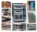 Horno eléctrico de la pizza de la Alambre-Calefacción uniforme de la hornada para las ventas