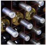 Staaf van de Opslag van de Houder van de Fles van het Kabinet van de Wijn van het Huis van de keuken de Houten met Nieuwe het Rek van het Glas
