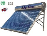 Ce aprobado doméstica al aire libre tubo de vacío de calentadores de agua solar para el hogar
