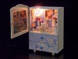 Niedriges MOQ Kind-Spielzeug-hölzerner Puppe-Haus Musix Kasten