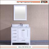 2017 Madeira maciça de venda quente armário de banheiro9199-48T W