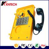 Telefone de fábrica Knsp médica-11 telefone com liga de alumínio e altifalante incorporado