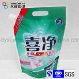 Подгонянный размером раговорного жанра жидкостный мешок Spout для тензида прачечного