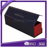 Form-Entwurfs-Wein-gesetzter Geschenk-Kasten für die einzelne Flasche, die mit EVA-Schaumgummi verpackt