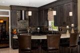 Gabinetes de cozinha luxuosos de madeira contínuos modernos Craigslist das vendas do gabinete de cozinha