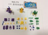 Chariots déformés de jouets d'assemblage de bricolage en promotion pour enfants
