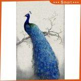 Het Digitale Afgedrukte Chinese Schilderen van de Pauw voor de Decoratie van de Vestibule