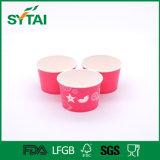 Impresión de frutas Copas de papel desechables de helado recubierto de PE