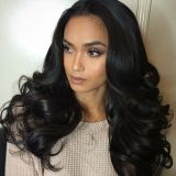 Человеческие волосы девственницы выдвижения волос волны бразильских человеческих волос свободные