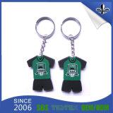 도매를 위한 선전용 디자인 주문 소형 연약한 PVC Keychain