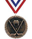 Китай оптовой бронзовую награду Hocky Штампование сувенир медаль
