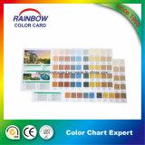 建築材料の内部のペンキの印刷カラーカード