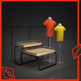 Soporte de visualización de la góndola de la ropa de los cabritos para el almacén