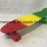 Plastikpenny-Fisch-MiniSkateboard in der multi Farbe