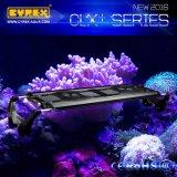 Caliente de venta de arrecife de coral inteligente utilizado iluminación de acuario LED para el tanque marino