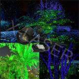 クリスマスのレーザー光線の速い出荷の光検出器が付いている屋外の赤い青緑の動きの星プロジェクターレーザーのシャワーライト
