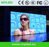 Location de publicité vidéo à l'intérieur Présentoir à LED Afficheur publicitaire Éclairage éclairé / Panneau / pavillon de danse interactif