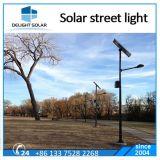 Luz de calle solar del gel del dispositivo de la aleación de aluminio de Ce/RoHS 30W LED
