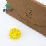 La casella impaccante di vendita del cuoio di stampa calda del regalo con la timbratura calda usata per promuove e lo scopo del regalo