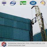 Sinoacmeは高層重い鉄骨構造の産業工場を組立て式に作った