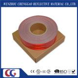 Лента слипчивого рефлектора C2 МНОГОТОЧИЯ красного отражательная для трейлеров (CG5700-OR)