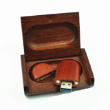 Whale groove Wood USB 3,0 Thumb drive 128GB Personalized RoHS