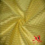 Tessuto di nylon del rivestimento del poliestere per il vestito/rivestimento/Jackest dalla donna