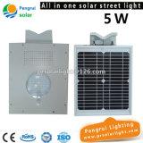Energiesparender LED-Fühler-Sonnenkollektor angeschaltene im Freienwand-Solarampel