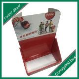 장식용 음식 식사 골판지 카운터 전시 상자