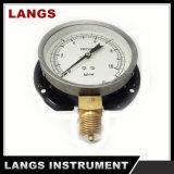 028 100mm 자동 Parts Standard 강철 Case 플랜지를 가진 압력 계기