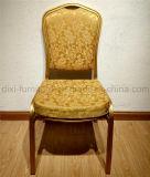 Hotel boda banquetes de aluminio silla con asiento curvo